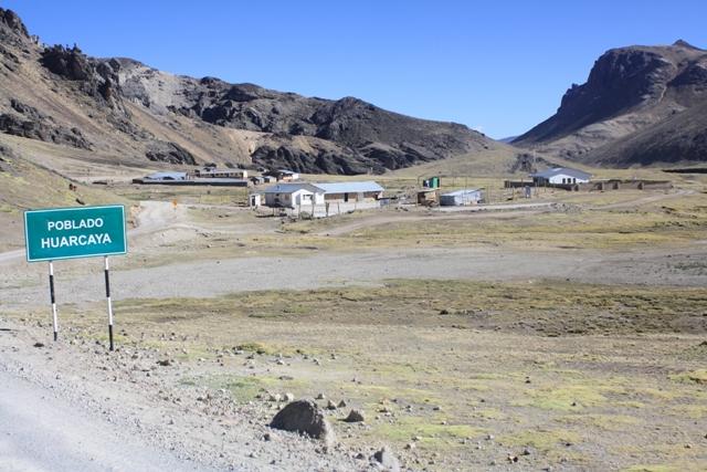 Huarcaya - Population: ~3