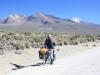 Pomerape on the descent from Abra de Chachacomani