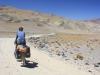 Climbing to Abra Falda Cienaga