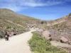 Descending from Abra Pucamaya to Berenguela