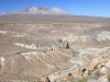 Quebrada Allane and Volcan Taapaca