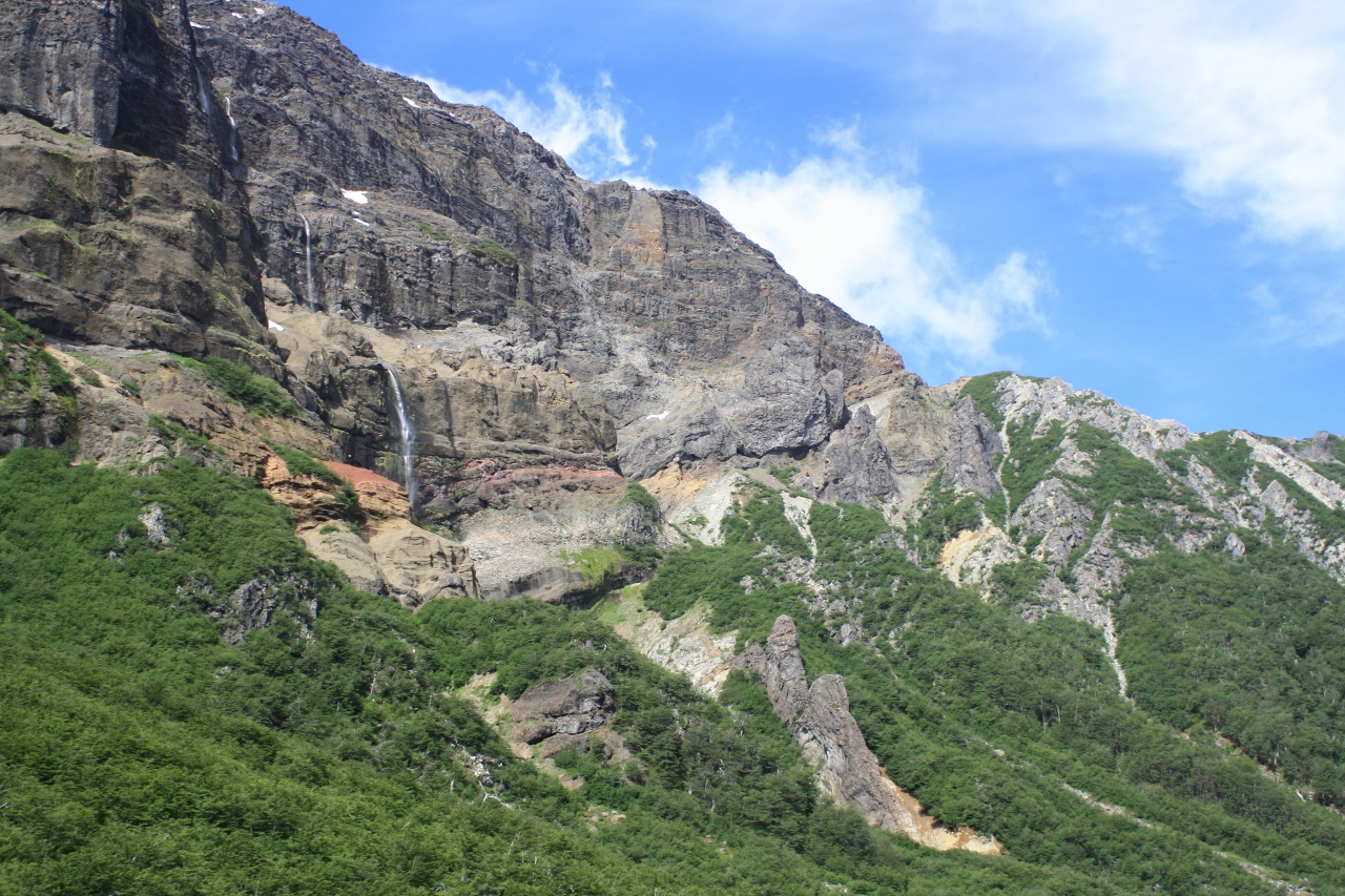 Waterfalls on Tronador