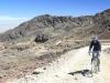 Climbing to Chacaltaya