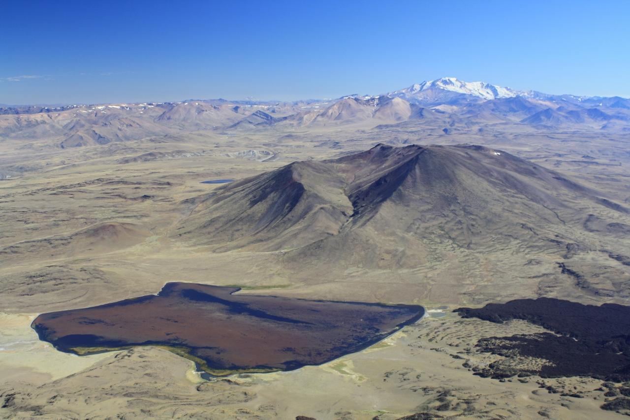 View from Volcan Tromen