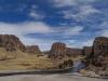 Tres canyones.