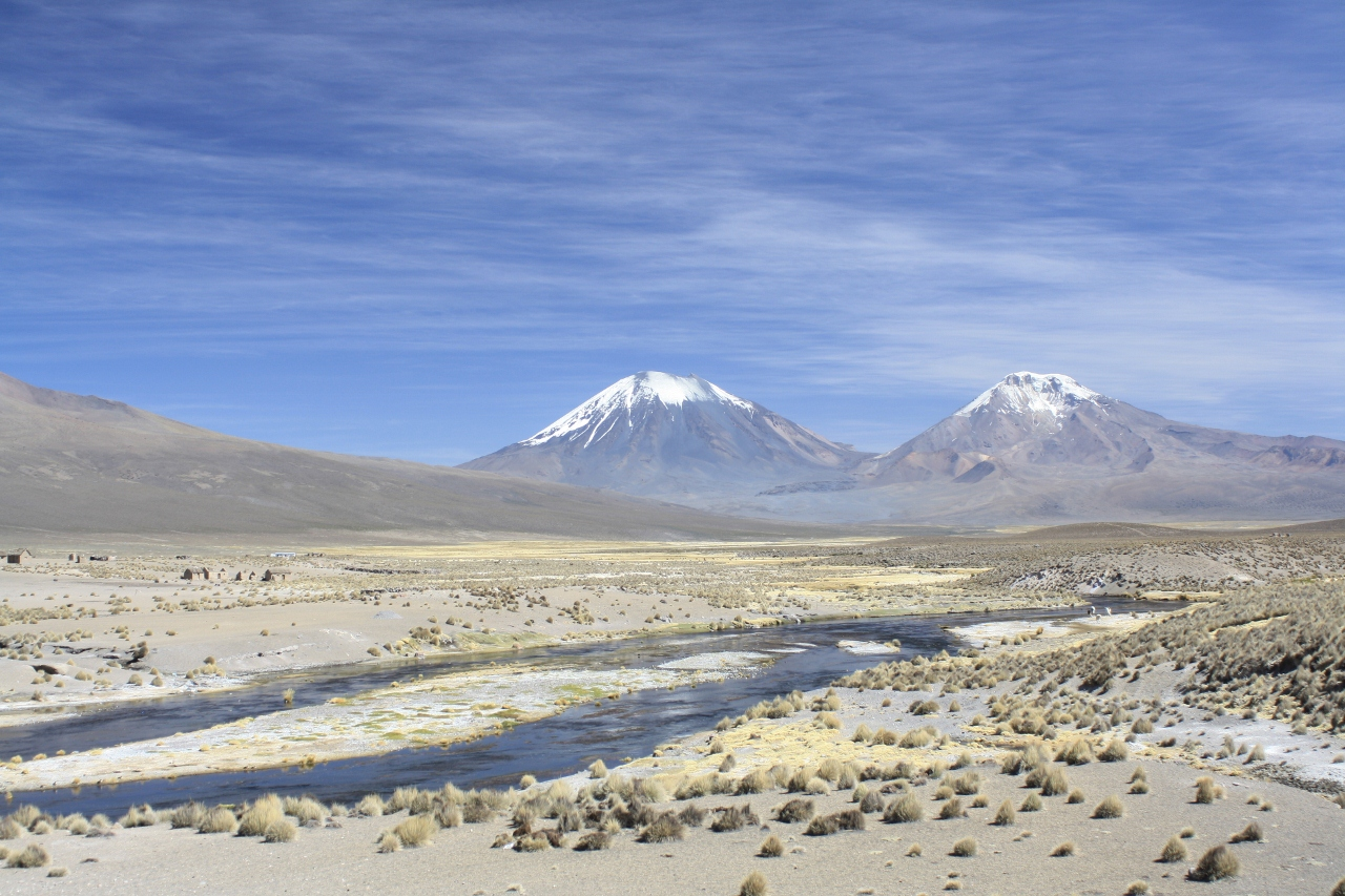 Parinacota and Pomerape