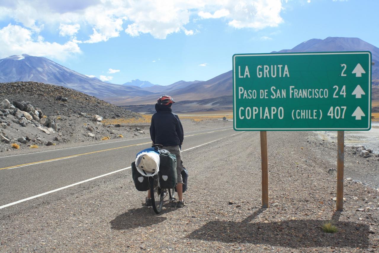 Nearing Las Grutas