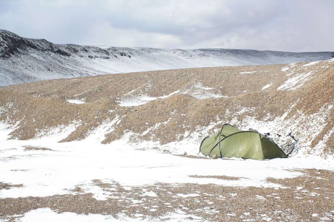 Camping near Mina Maricunga