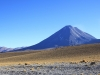 Licancabur on the climb to Hito Cajon