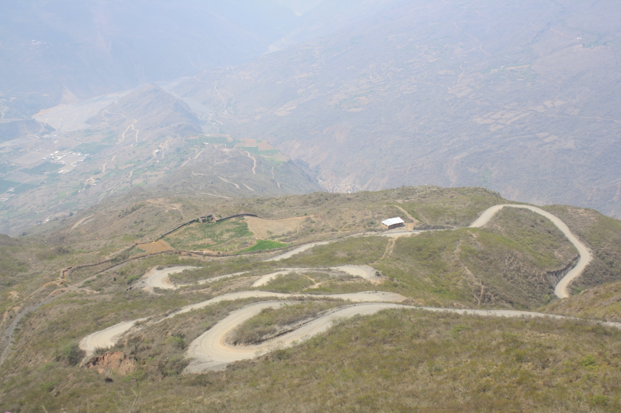 Long climb above Pallayunga