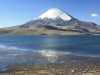 Parinacota and Lago Chungara