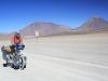 Climbing from Laguna Blanca to Paso del Condor