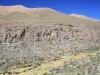 Descending from Paso Salar Capina