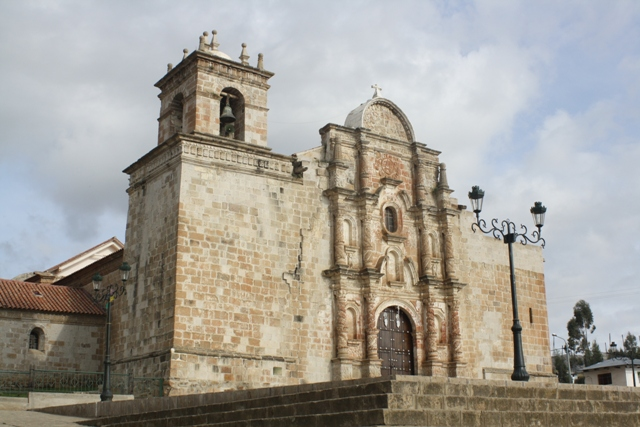 Colonial church in Haquira