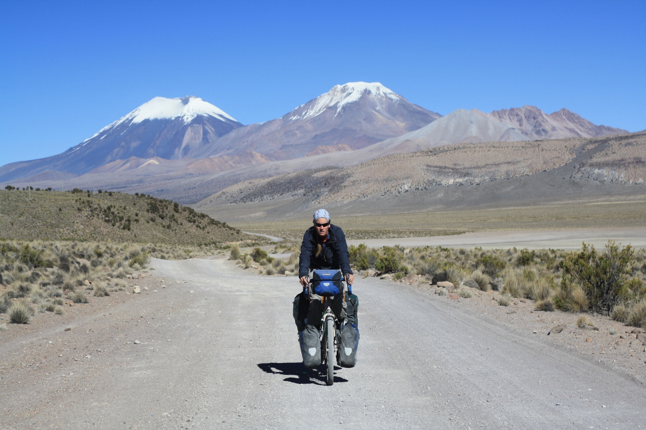 The short climb from Sajama to Tomarapi
