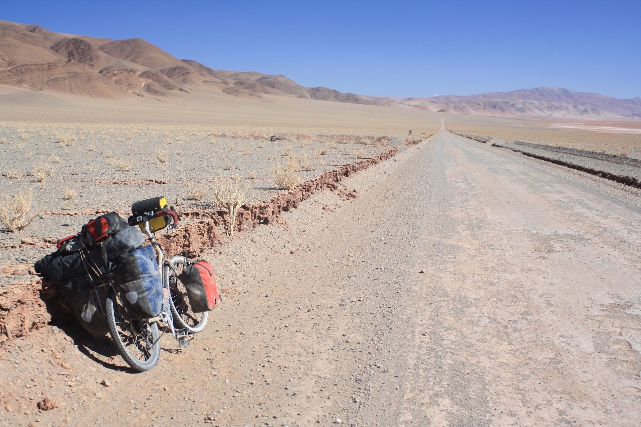 The long, straight road to Antofagasta de la Sierra