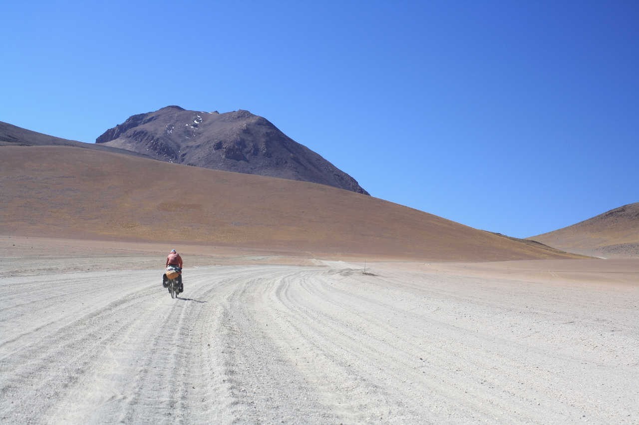 Climbing to Paso del Condor