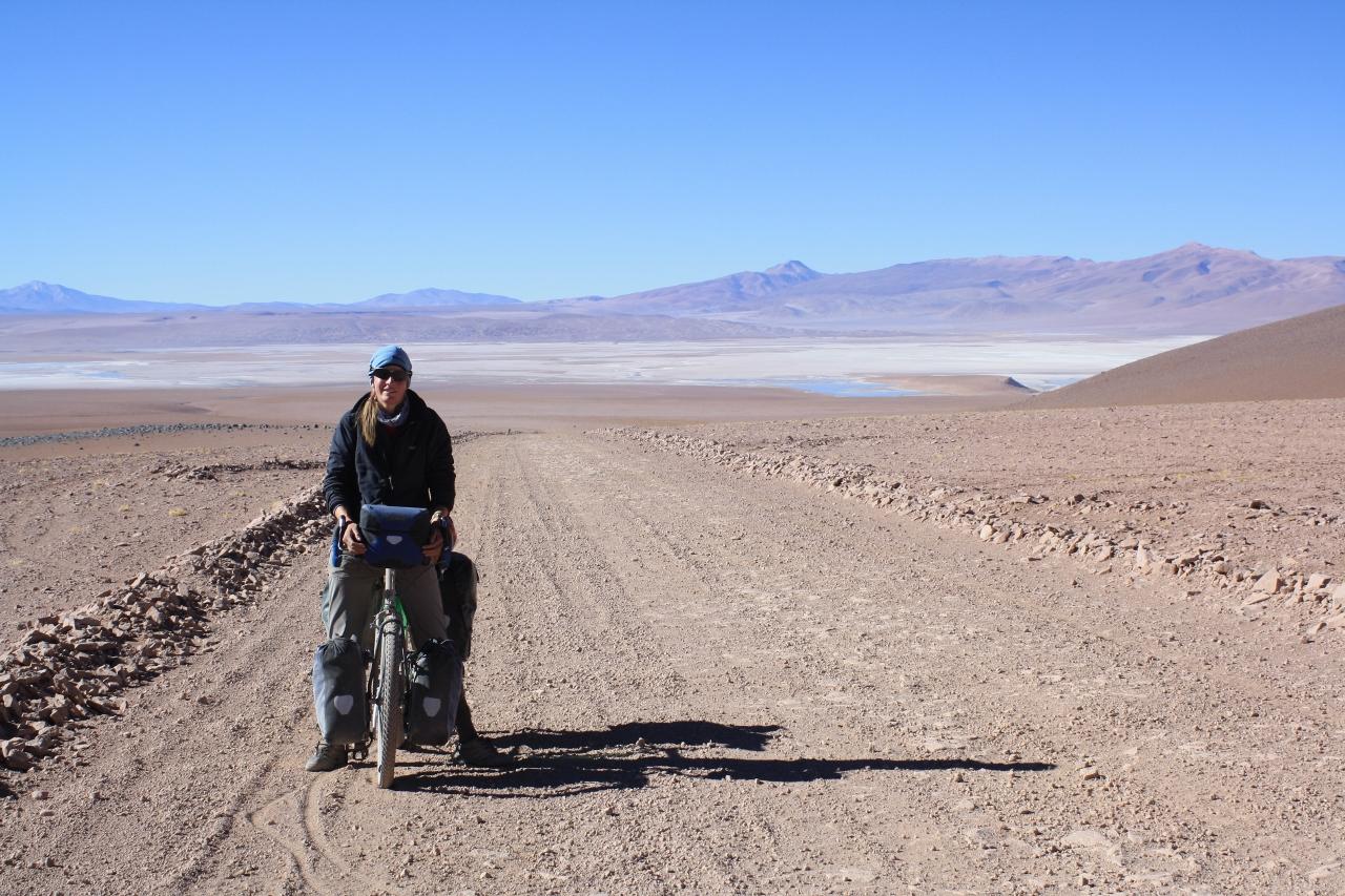 Climbing to Paso Sol de Mañana