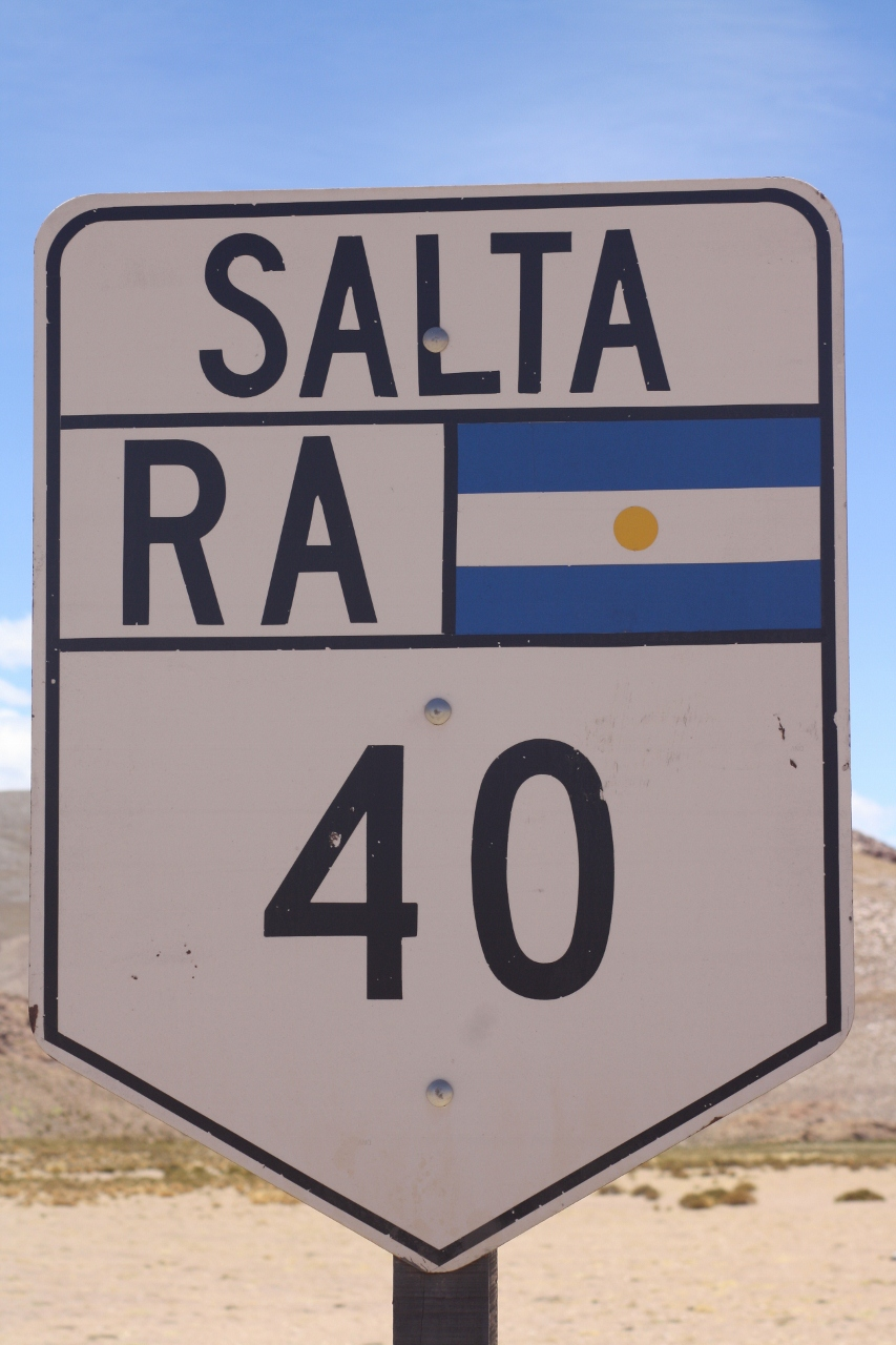 Crossing into Salta