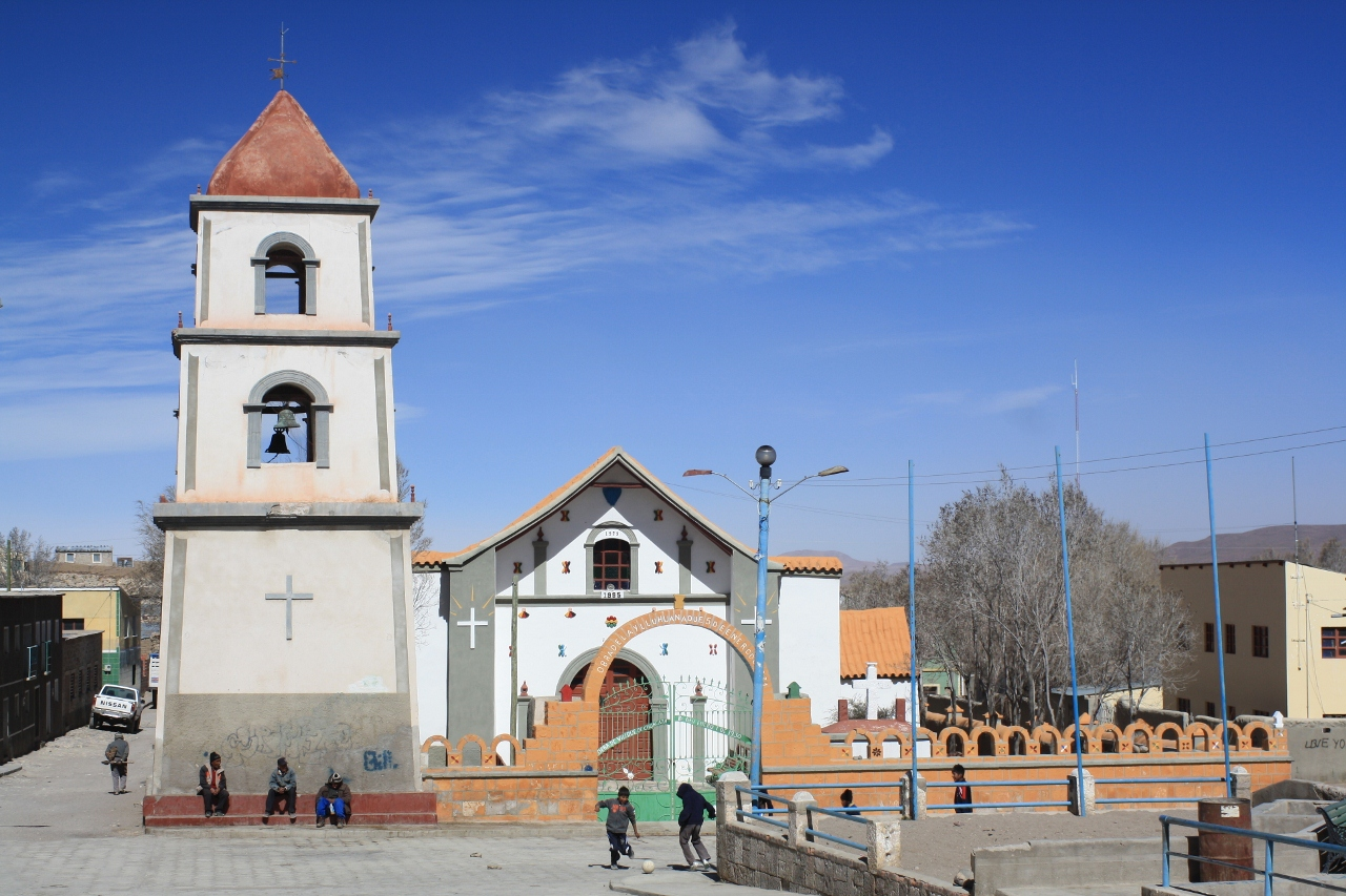 Llica church